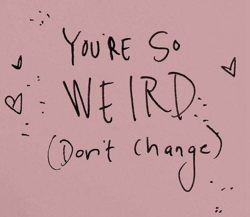 quotes, weird, and grunge image
