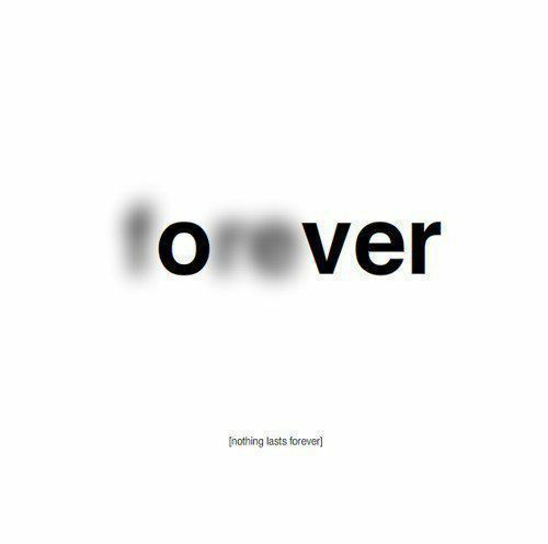 forever, over, and quotes image