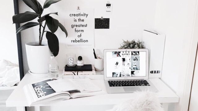article, studying online, and coffee image