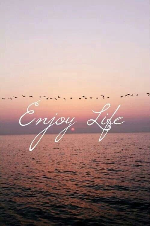 life, enjoy, and quotes image