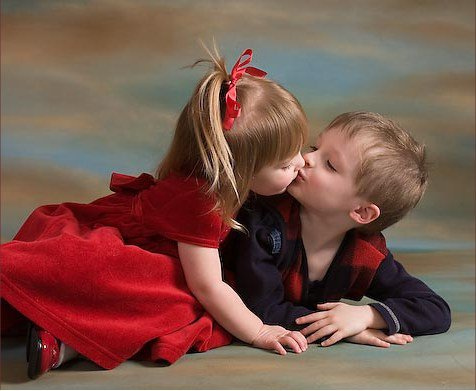 Baby Girl Kissing Baby Boy Images Girl Kissing Boy no Flickr