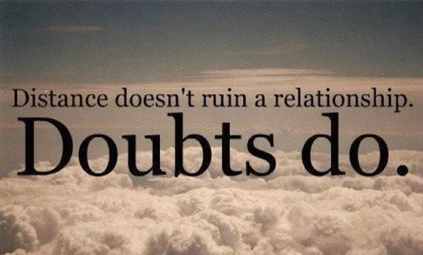 Relationship, doubt, and quotes image