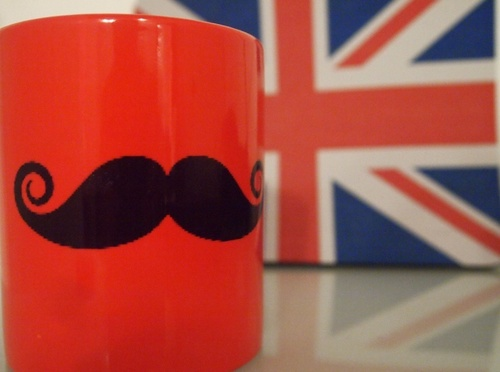 Flag,Uk,Moustache - inspiring picture on PicShip.com