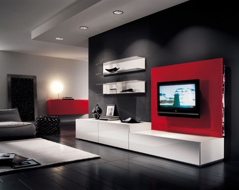 Living Room on Lcd Tv Cabinet Wall Mount For Living Room Large Jpg