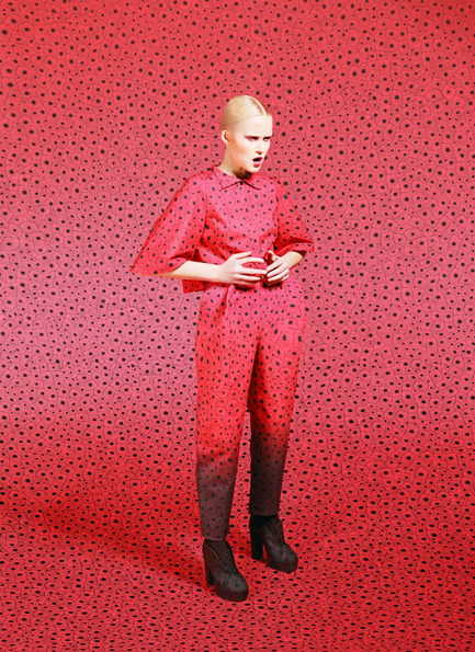 It's Nice That : Fashion designer Masha Reva wows us these flamboyant camouflaged designs
