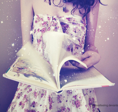 book, fun, girl - inspiring picture on Favim.com