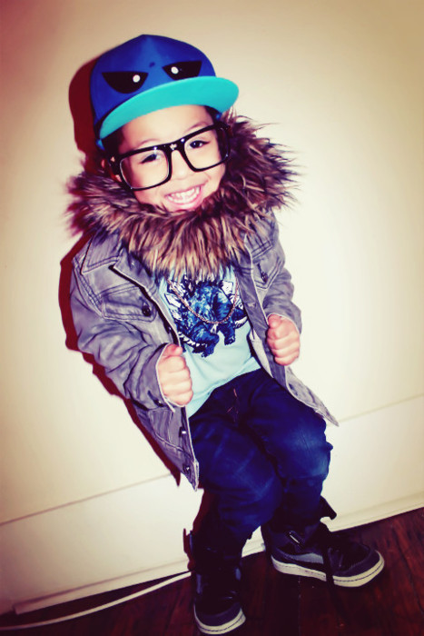 gangster, giggle, little kid, swag, swagg - inspiring picture on Favim.com