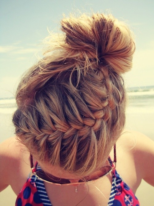 hair love / braided bun