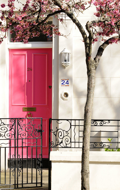 Pink Door or No 24 | Flickr - Photo Sharing!