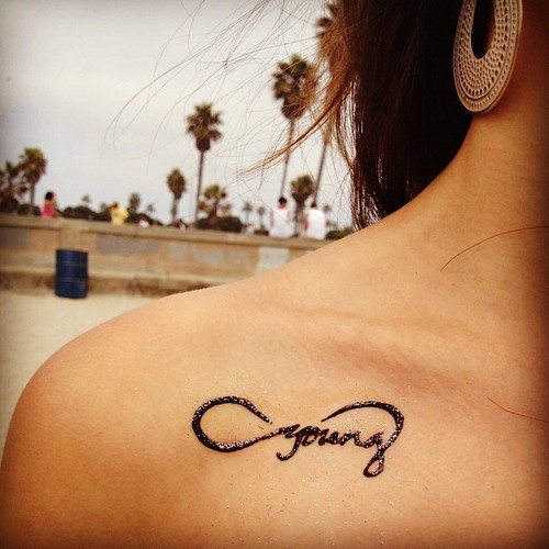 Tatted at the beach☀ #henna #foreveryoung #infinity #sandiego #belmont #beach #summer #sky #hennatattoo » @natasha_mazz » Instagram Profile » Followgram