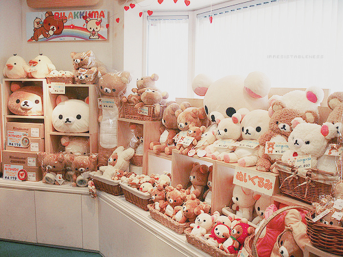 cute, kawaii, rilakkuma, teddy bear - inspiring picture on Favim.com