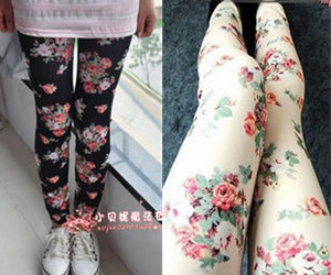 flower leggins