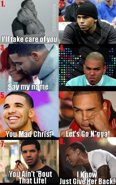 Twitter / JayMontega28k: Lmaoooo Drake and CB both