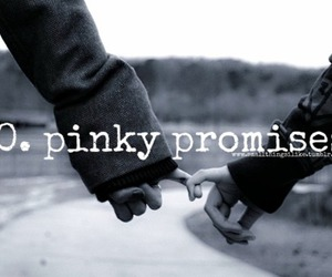 pinky promise cute