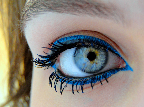 Beautiful,Blue,Cute,Eye,Girl,Liner – inspiring picture on PicShip.com