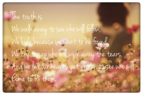 The Truth is… picture by Be_lilly – Photobucket