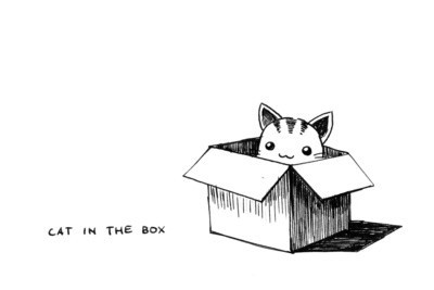 Anime_black_and_white_box_cat_cute_drawing-7f60f762aed02a00bdf5a72de3b9f3e7_h_large