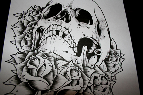 Art-beatiful-black-and-white-draw-skull-favim.com-448418_large