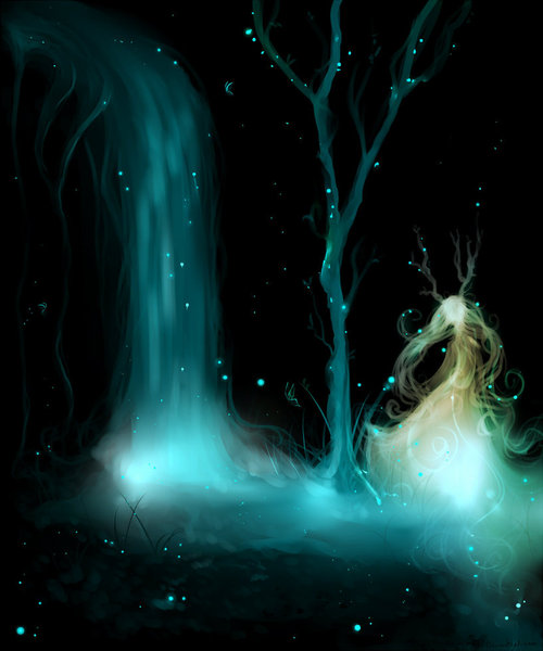 Speedpaint__fairy_fountain_by_kohane_hime-d4oszmm_large