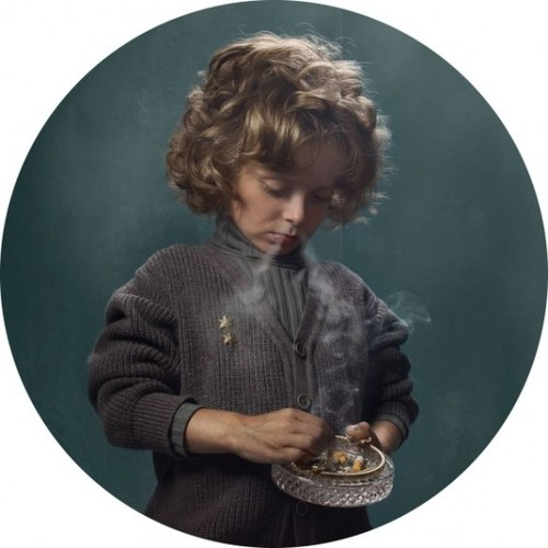 frieke Janssens' Smoking Kids « Beautiful/Decay Artist & Design