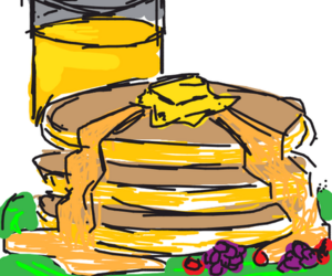 drawsomething pancakes