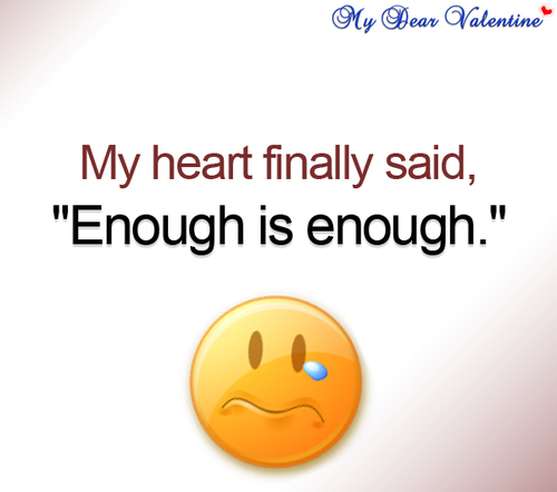 My heart finally said | Picture Quotes | Mydearvalentine.com