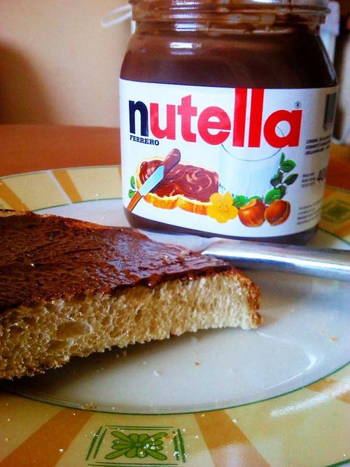 Twitter / merciiB: i love nutella ! own pictu