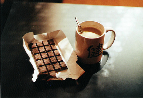 chocolate, coffee, photography, vintage - inspiring picture on Favim.com