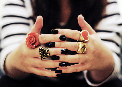 dress your nails - inspiring picture on Favim.com