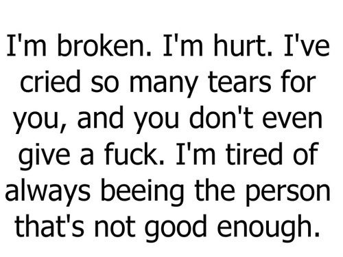 Broken,Hurt,Tear