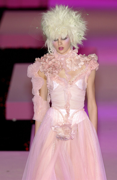Christian Lacroix at Couture Spring 2003 - StyleBistro