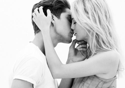 blonde, boy, girl, love - inspiring picture on Favim.com