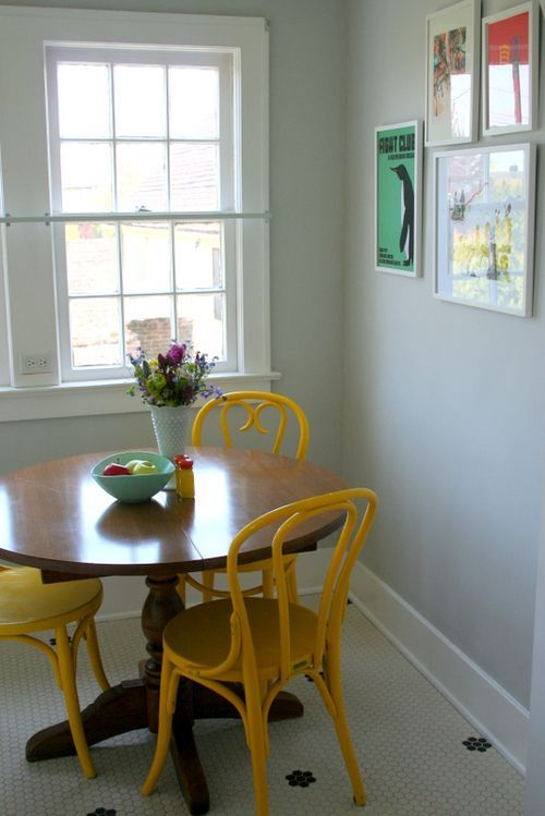 Before & After: Breakfast Nook - One Rare Bird
