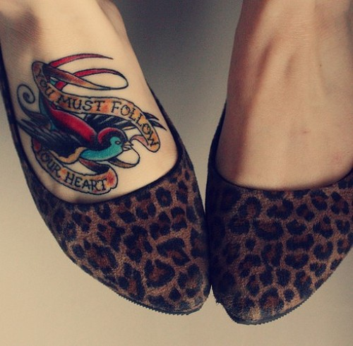 Foot Tattoo Tumblr