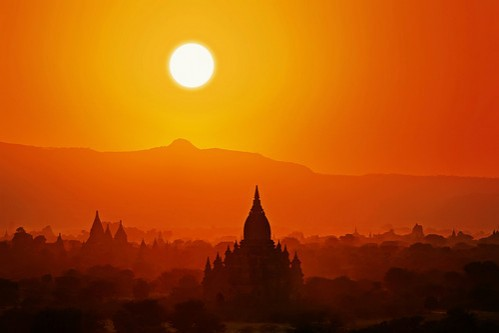 photograph sunset in bagan by sergey utkin on 500px picture on VisualizeUs