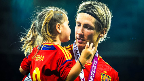 # Twenty-Two - He is THE man and a Father.. Fernando Torres with...