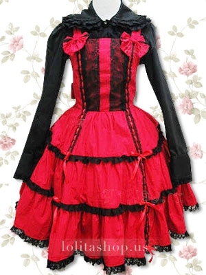 Black-and-red-lace-punk-lolita-dress-with-two-bows-dsc46.jpg-300x400_large