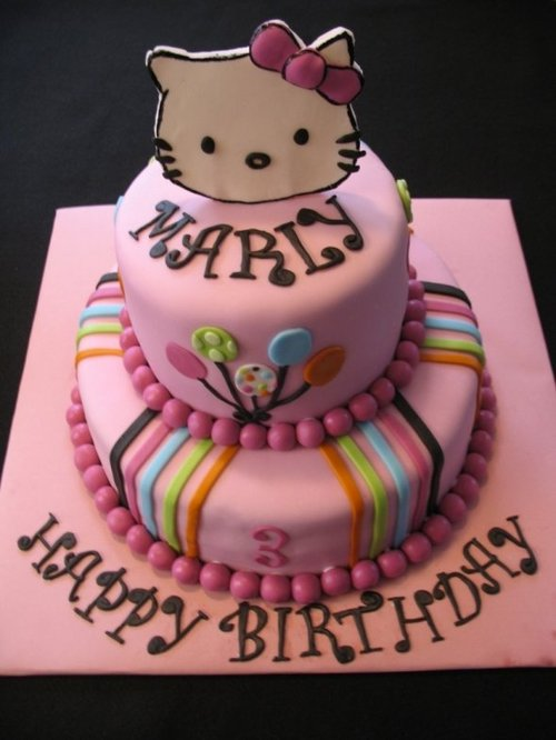1000+ images about Cake Ideas on Pinterest Hello kitty ...