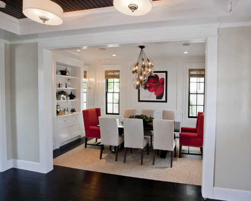 Black grey white red bedroom design pictures remodel for Black white and red dining room ideas