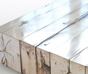 material wood silver
