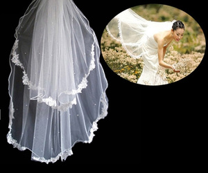 beautiful wedding veil