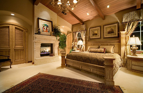 Home furniture decoration country bedroom decorating ideas for Southern style bedroom