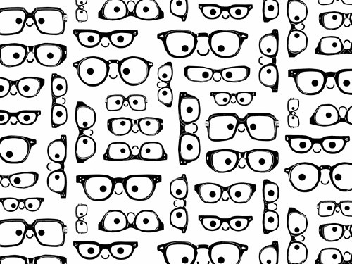 pattern_black_and_white_cute_b