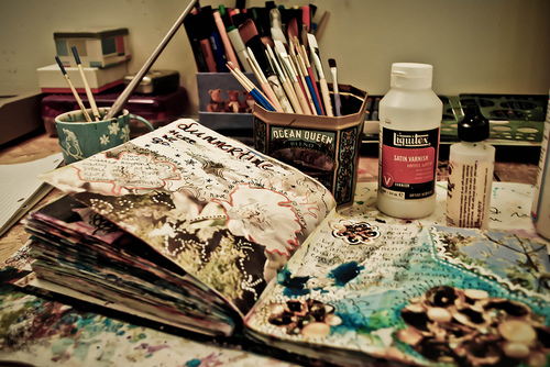 My space is usually a bit messy :) | Flickr - Photo Sharing!