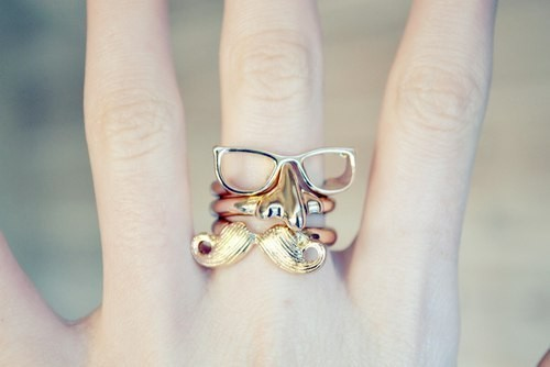 fashion + beauty / rings!