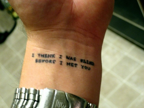 TATTOSS: Small Cute Tattoos Tumblr Paramore Song Quotes