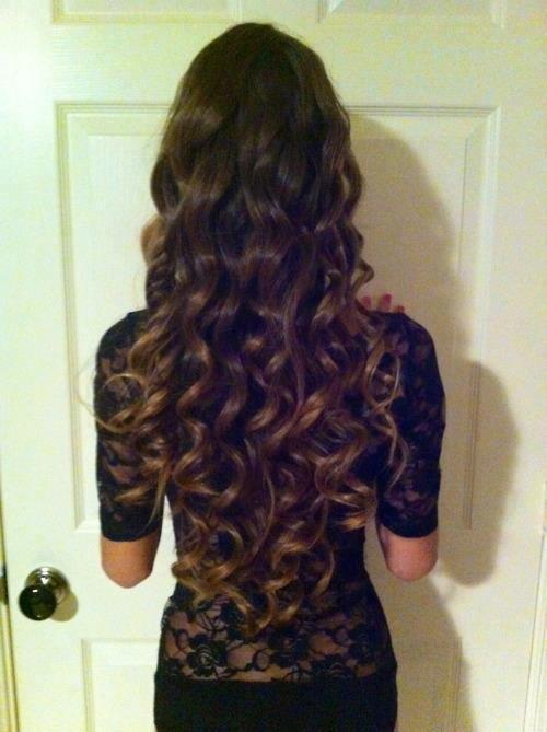 curly hair is a must