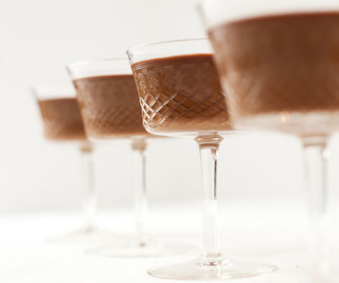 Craveology, Milk Chocolate Panna Cotta