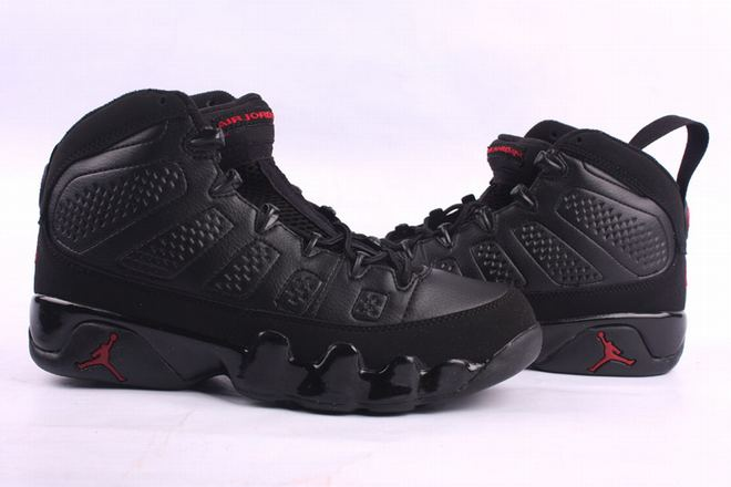 air jordan 9 all black