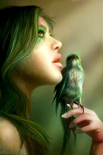 Enchanted_amazing_bird_cool_face_green-fe724e5f4ebab91a41d6f68b48f9be0a_h_large